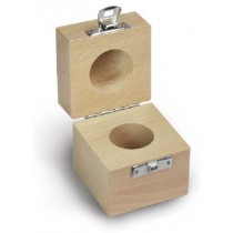 Wooden box for single weights - classes F2 - M3