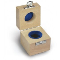 Wooden box for single weights -classes E1 - F1